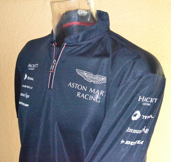 Aston Martin Racing 2016 WEC Team and Drivers Raceday Shirt (L)