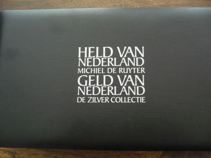"Netherlands - Year sets 2007 ""Michiel de Ruyter - the silver collection"" Parts I through VI"