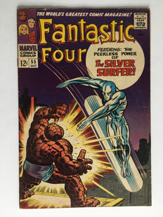 Marvel Comics - The Fantastic Four #55 - 1x sc - (1966)