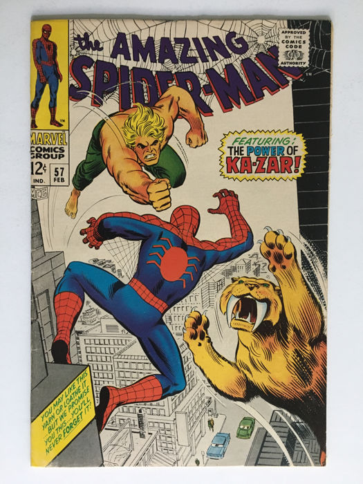 Marvel Comics - The Amazing Spider-Man #57 - 1x sc - (1968)