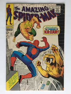Marvel Comics -The Amazing Spider-Man #57 - 1x sc - (1968)