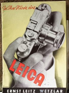 Leica catalogue from 1938