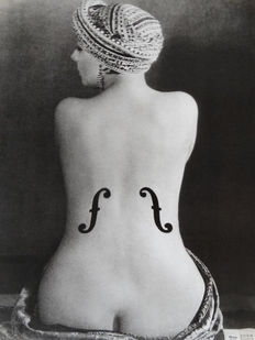 Man Ray (1890-1976) - 'Le Violon d'Ingres' - 1924