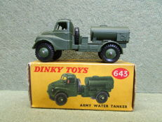 Dinky Toys - Scale 1/43 - Army Water Tanker No.643