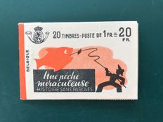 "Belgium 1941 - stamp booklet ""une pêche miraculeuse"" - OBPA35a"