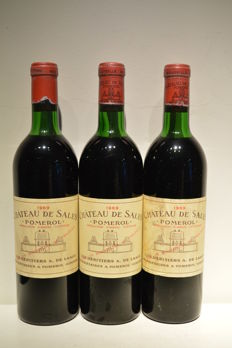 1969 Chateau de Sales - Pomerol - 3 Bt