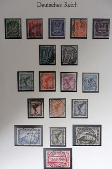 German Reich - Airmail stamps