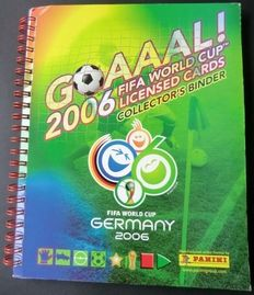 Panini - Goaaal 2006 + Complete set of 150 Panini cards in Panini ring binder - In wonderful condition