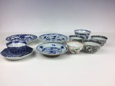 Lot with porcelain - China - 18th century