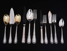 99-piece cutlery set for 12, M. H. Wilkens & Söhne, Germany, XXth c.