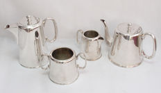 4 Piece Large Tea Set - Early 20th Century