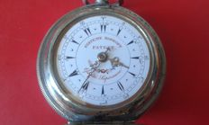 Systeme Roskopf for Turkish market -- men's pocket watch -- late 1800s