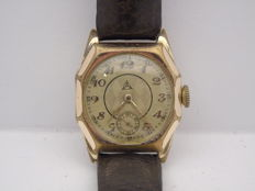 Alpina Art Deco men's wristwatch, vintage 1901-1949