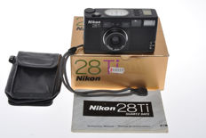 Nikon 28TI very nice 35mm point & shoot camera with 28mm F:2.8 Nikkor lens