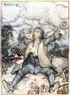 Arthur Rackham; Jonathan Swift - Gulliver's Travels - 1937