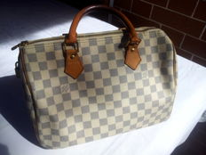 Louis Vuitton – Speedy 30 Damier Azur – Handbag