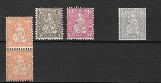 Switzerland 1862/1964 - A Small selection
