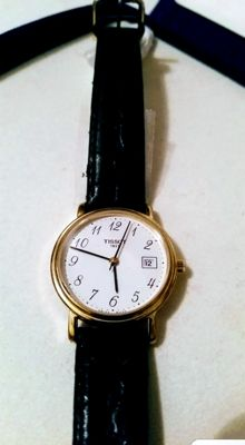Quartz Tissot - Gold and steel