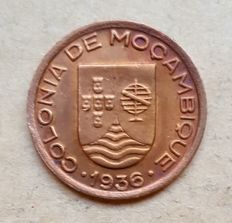 Mozambique / Republic – 10 Centavos 1936 . Outstanding Condition