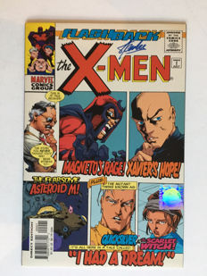 Marvel Comics - Flashback : X-men Minus #1 - Signed By Stan Lee - 1 x sc - 1st Edition - (1997)