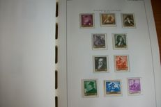 Spain 1957/1990 - Complete collection of stamps in 2 albums