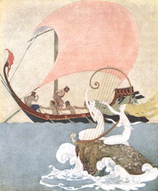 Padraic Colum - The Children's Homer: Adventures of Odysseus and the Tale of Troy - 1920
