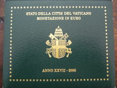 "Vatican - year pack/ year collection 2005, ""Johannes Paulus II"""