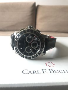Carl F. Bucherer Patravi TravelGraph GMT Chrono Men's Watch - Brand New & Unworn
