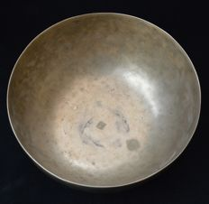 Tibetan singing bowl, hand-hammered, 22 cm – Tibet/Nepal – mid 20th century
