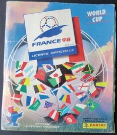 Panini - France 98 World Cup - Complete album - Including Iran stickers.