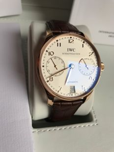 IWC Portugieser Seven Days IW500113 - Gentlemen's watch - Year 2016