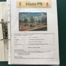 Theme Atlanta 1996 - Theme collection Olympic Games