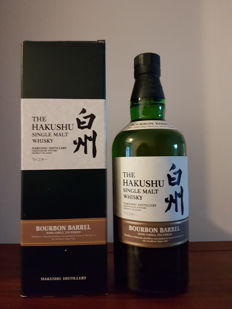 The Hakushu bourbon barrel