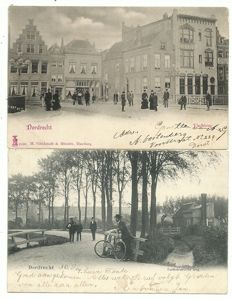 Collection of postcards Dordrecht 114 x