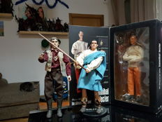 Medicom/Sideshow - Hannibal Lecter, Billy the kid and Highlander