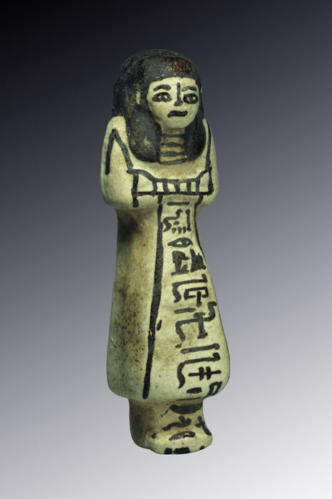 Ancient Egyptian overseer shabti - 15 cm
