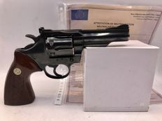 Colt Trooper MK III 357 magnum CTG - Disabled according to the European legislation 2016/xxxx with certificate NO RESERVE.
