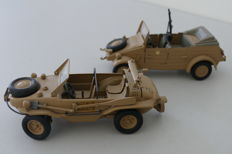 Wehrmacht metal cars from the 1970s - Hendrix VW 166 & VW 82