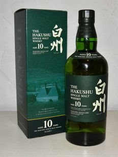 The Hakushu Single Malt  -  10 years old -  Discontinued