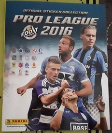 Panini - Jupiler Pro League 2016 Belgium - Complete album