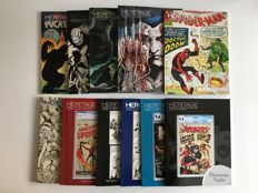 Collection Heritage Comics & Comic Art Auction Catalogues - 11x sc - 1st prints - (2016/2017)