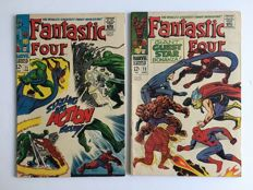 Marvel Comics - Fantastic Four - Issues #71 & #73  - 1st Print - 2x SC - (1968)