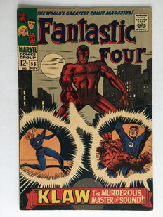 Marvel Comics - The Fantastic Four #56 - 1x sc - (1966)