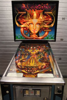 WILLIAMS BARRACORA electro-mechanical Pinball machine