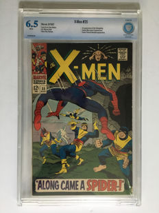 Marvel Comics - X-men #35 - CBCS Graded 6.5 - 1x sc - (1967)