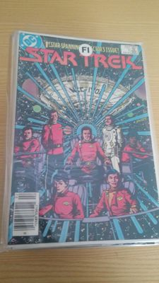 DC Comics - Star Trek Vol 1 - Issues nos. 1-56 - Complete Set + Star Trek Annual 1, 2 and 3 - 59x sc - (1984/1988)