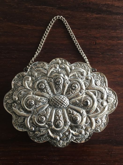 Silver Turkish honeymoon mirror