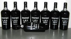 2012 Kopke L.B.V. Port – Lot of 8 bottles