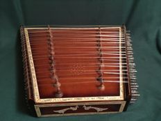 Indian 4-course santoor,  purchased in New Delhi in 1970