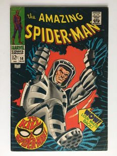 Marvel Comics - The Amazing Spider-Man #58 - 1x sc - (1968)